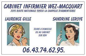 carte infirmières